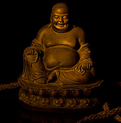 photo by Cliff Homewood of a Buddha statue