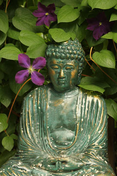 "Photo by Cliff Homewood ""Green Buddha"""