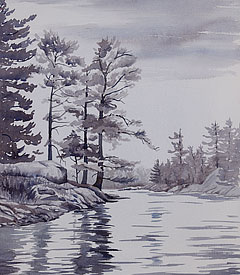 watercolour painting by Debbie Homewood